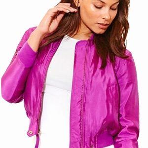 Ralph Lauren Silk Utility Jacket 💜